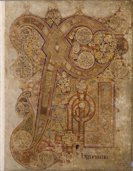 鮮やかに彩られた、かつての装飾写本。