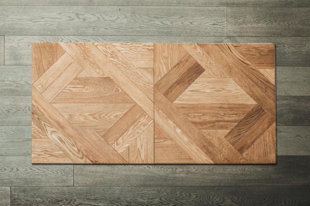 """絶妙なエイジング加工と、""""調色""""に定評のある床材。"""