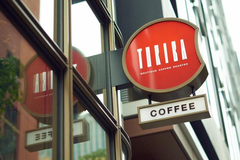 トリバコーヒーでオーダーするには。