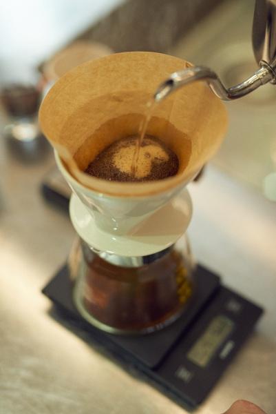 トリバーコーヒーとのセッション