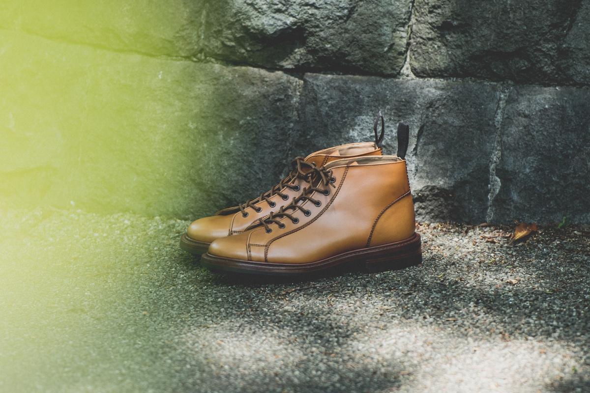日本人に似合う、ボリュームのある靴。
