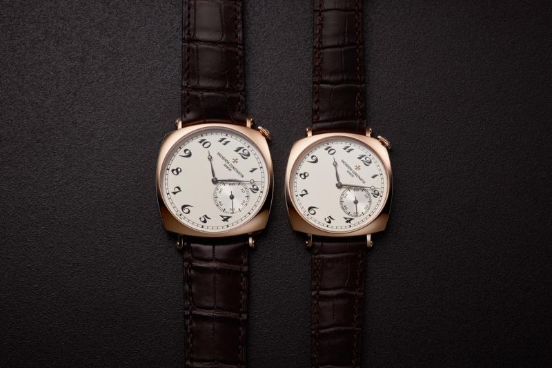 「レギュラー」か「スモール」か——。名門「ヴァシュロン・コンスタンタン」の腕時計は、ふたつのサイズで誘惑する。