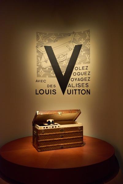 著名人の間で瞬く間に広まった、ルイ・ヴィトンのトランク。