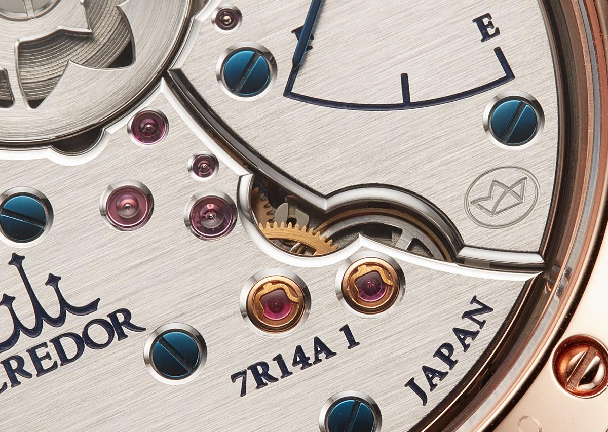 職人が手作業で磨き上げた至高の腕時計、「クレドール 叡智Ⅱ」
