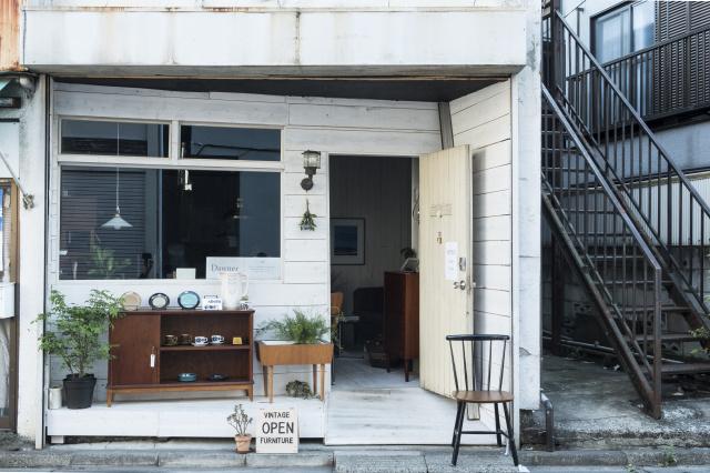 """静かに注目を集める西荻窪にオープンした「ダーナー」は、""""素直にいいモノ""""に出合える、ヴィンテージショップです。"""