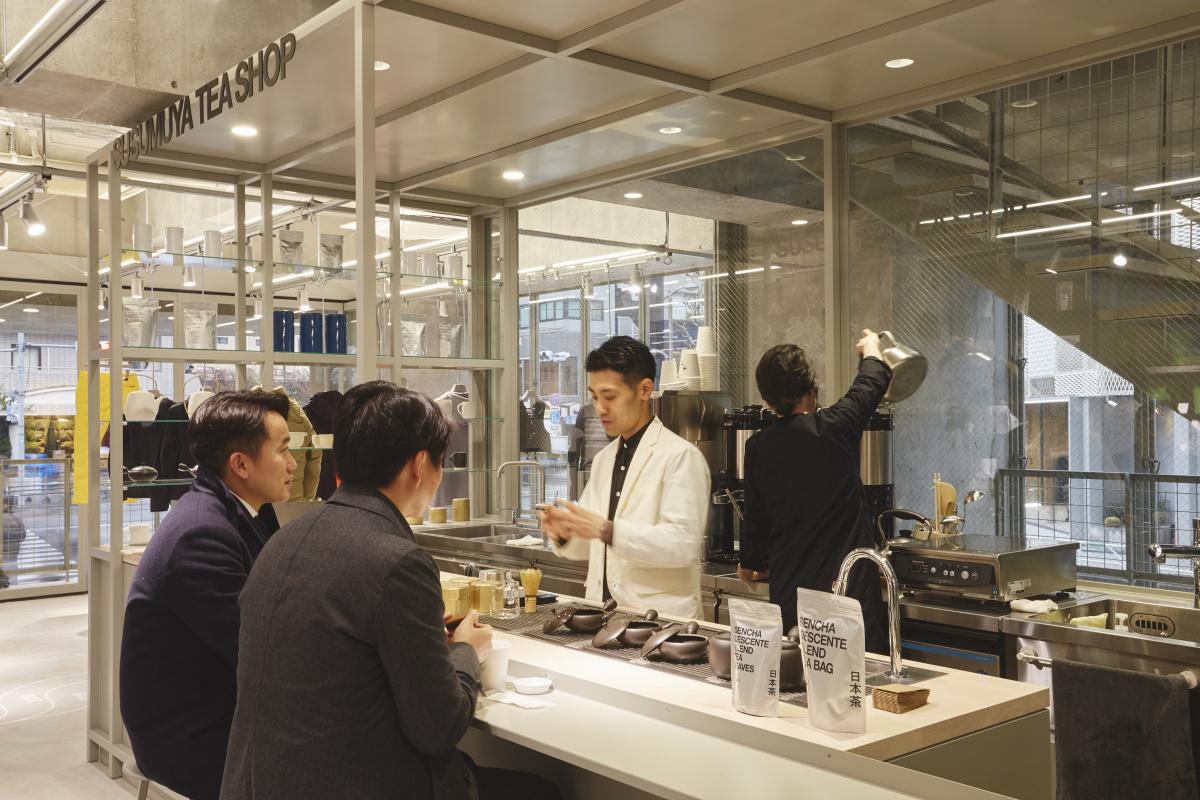 ユニホームから日本茶まで! スポーツウエアの枠を超えた店、「デサント トウキョウ」が渋谷にオープンしました。
