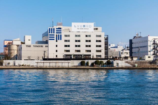 東京デザイン巡りの1日は、清澄白河のホテル「リュウロ」で総仕上げ。