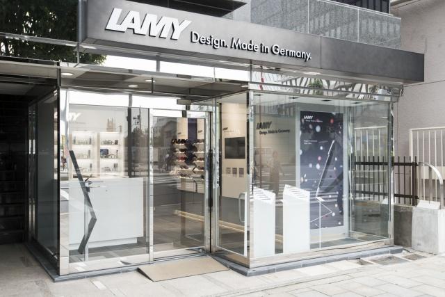 ドイツ国外で初! 老舗文具メーカー「ラミー」の旗艦店に注目です。