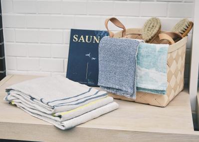 サウナ通必見! フィンランドのテキスタイルメーカー「ラプアン カンクリ」のリネンは最高です。