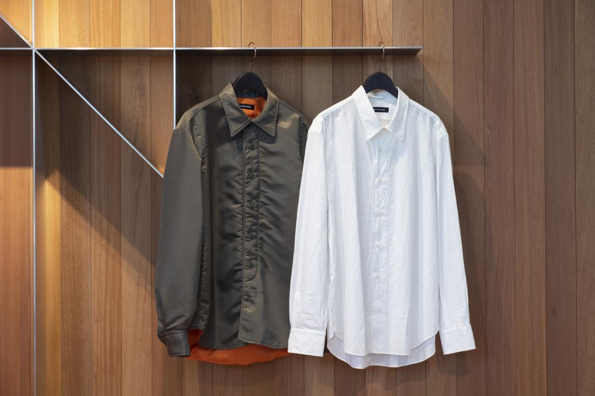 代官山の「ナオキ タキザワ フィッティングルーム 」で、ジャケットとシャツをとことん吟味。