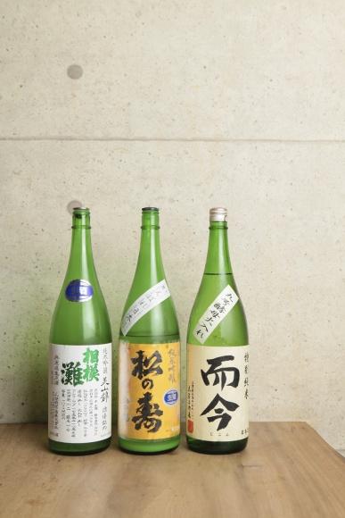 蔵元も贔屓にする、和食と日本酒の妙。
