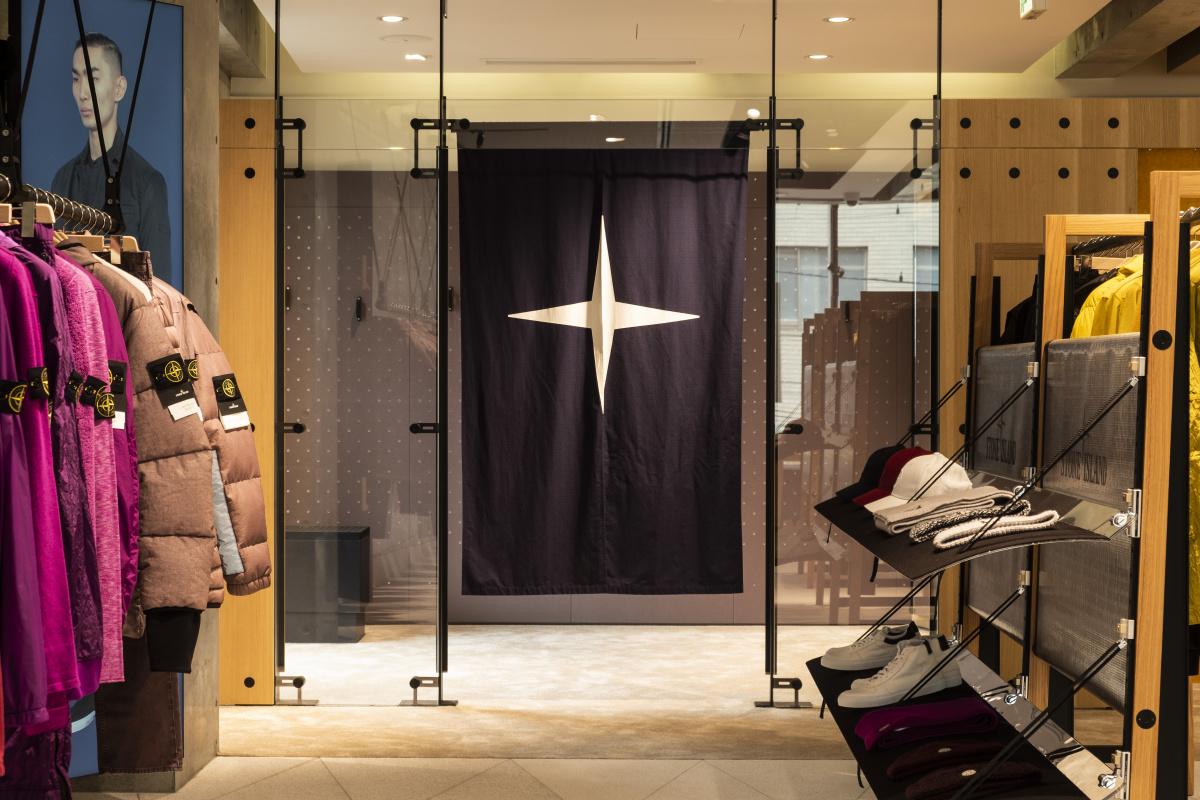 「ストーンアイランド」の日本初の旗艦店で、他にはちょっとないダウンを探して秋支度を始めましょう。