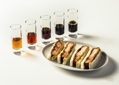 黒酢酢豚のカツサンド!!  スペイン×中華の新境地「テクストゥーラ」で、ハイテンションな食を満喫。