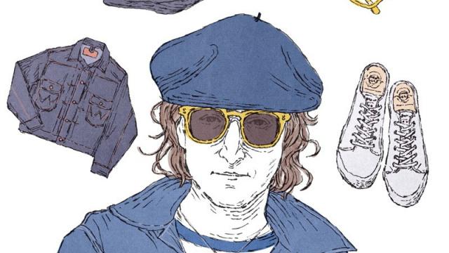 ビートルズ時代からどこまでも自然体、ジョン・レノンという気取らないスタイル