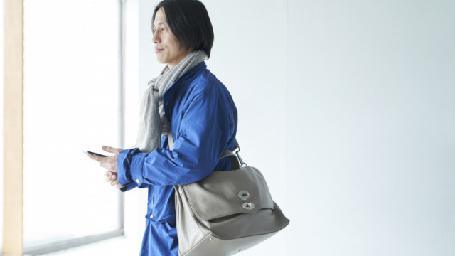 【ザネラート クリエイターに寄り添うバッグ】繊細で揺るぎない美意識が貫かれる、池田尚輝の視点。