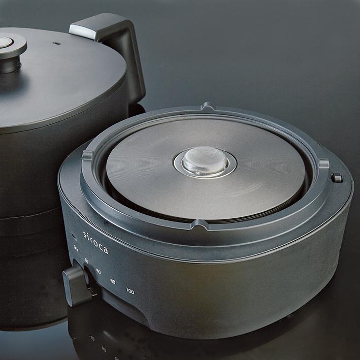 使い勝手のいい小鍋と湯沸かし器の見事な融合。