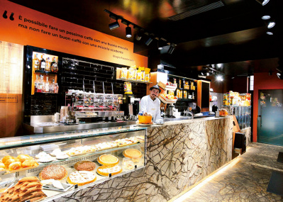 ファン待望!ナポリの老舗カフェがミラノへ。