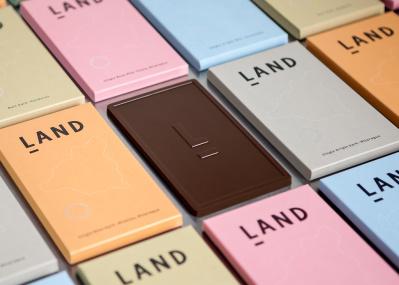 フェアでおいしい、 板チョコが人気です。