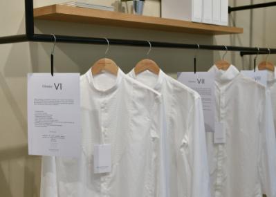 男を最高に引き立てる、白シャツ専門店。