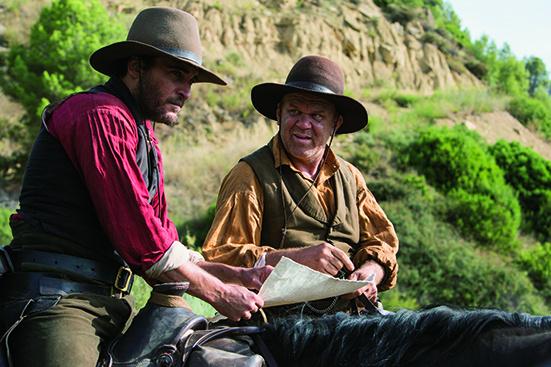 男たちの欲望がうごめく、曲者俳優が揃った西部劇。