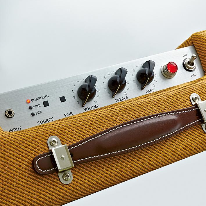 ギターアンプを彷彿させる、力強いサウンド