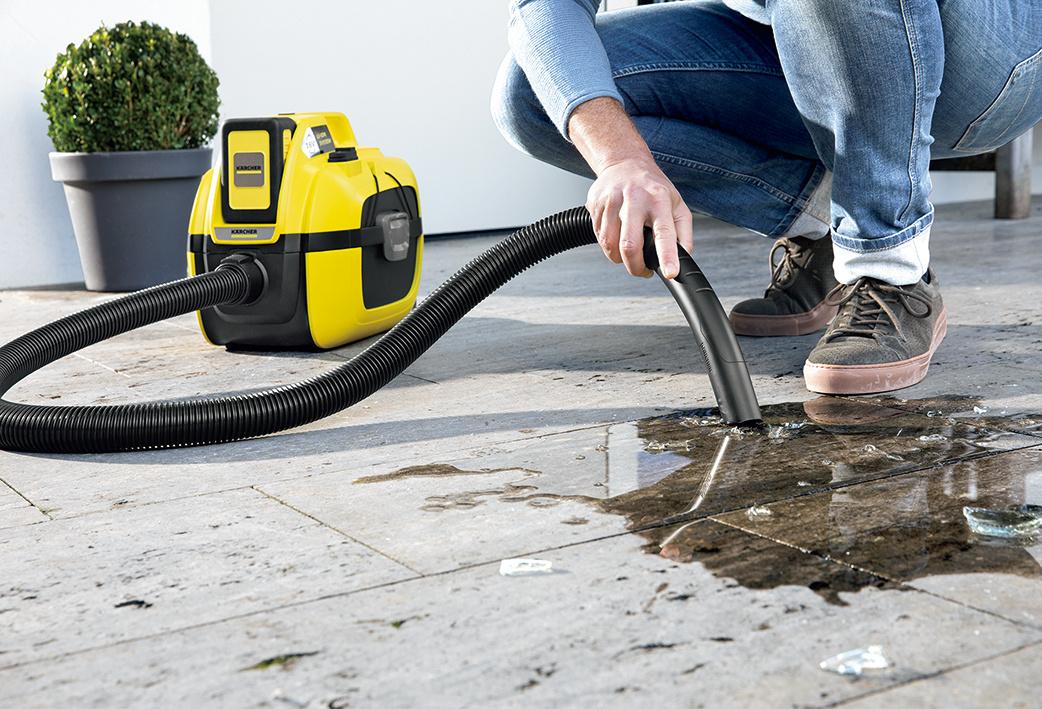 強力バッテリーで、乾湿問わずゴミを一網打尽!