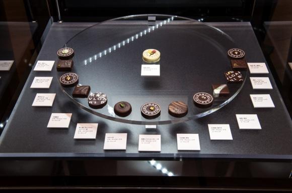 ブルガリの食べる宝石、チョコレート・ジェムズ回顧展。