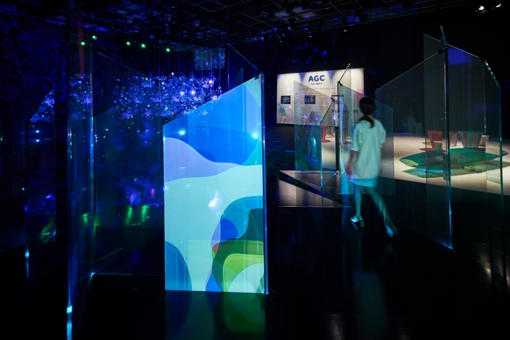 """ミラノ・デザインウィークでも話題を呼んだ、 """"ガラスの未来""""を体感するAGCのインスタレーションが東京にやってきました。"""