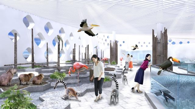 生き物たちが集結する、生きているミュージアム。  大人のテーマパークとして注目です。
