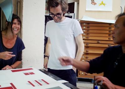 """イデーショップ 六本木店で開催中! ナイジェル・ピークのリトグラフ展で、""""アートのある暮らし""""を手に入れよう。"""