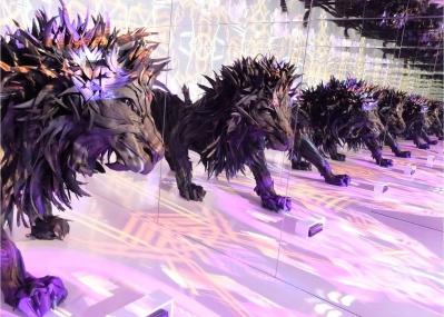 日本初公開! いまにも動きそうなタイヤのライオンを目撃せよ。