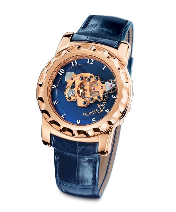ムーブメントが回転して時間を示す「ユリス・ナルダン」の複雑時計「フリーク」がモダンに変身。価格も大幅ダウンして新登場!