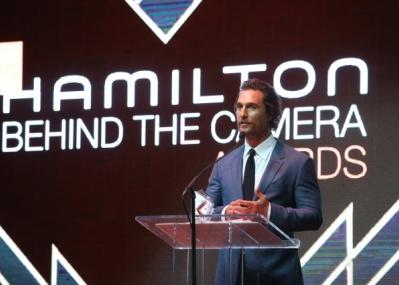 "L.A.にて第9回「ハミルトン ビハインド・ザ・カメラ・アワード」贈賞式が開催。プレゼンターはアカデミー俳優の""あの方""です!"