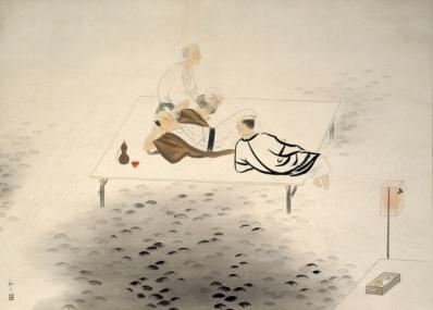 修善寺温泉の旅館主人と、日本画家たちによる知られざる温かな交流。
