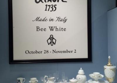 リチャード ジノリとミナ ペルホネンの「Bee white」シリーズにくぎづけです!