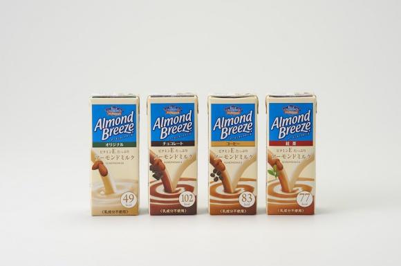 アメリカの超定番ドリンク、アーモンド・ブリーズが日本でも飲めるようになりました!