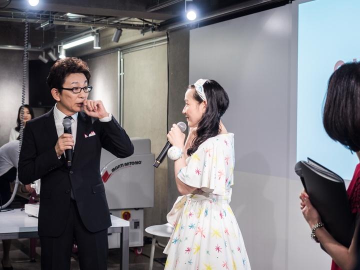 古舘伊知郎が服づくりの応援隊長に !? ファッション初心者OKのワークスペースができました。