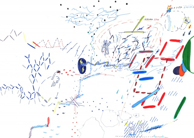 グラフィック「1_WALL」グランプリ! 絵とダンス、全身から放たれるAokidの作品を観に行こう。