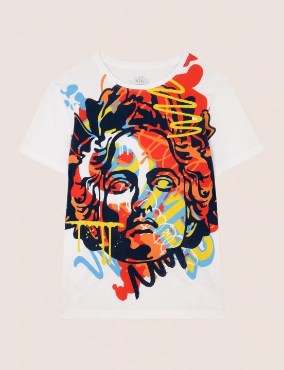 「A|Xアルマーニ エクスチェンジ」と世界の注目アーティストがコラボした「#st_ART」Tシャツが、限定4店舗に登場!