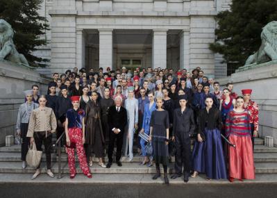 帝王ジョルジオ・アルマーニが12年ぶりに来日、東京で初のランウェイショーを開催しました。