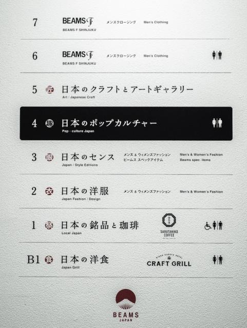 ニッポンを打ち出した、新宿「ビームス ジャパン」全6フロアの見どころはこれ!