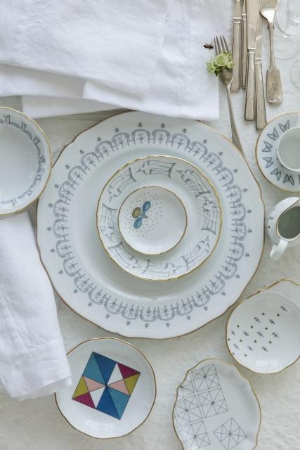 テーブルウェアに個性を! 皆川明が絵筆をとった、リチャード ジノリの限定コレクション