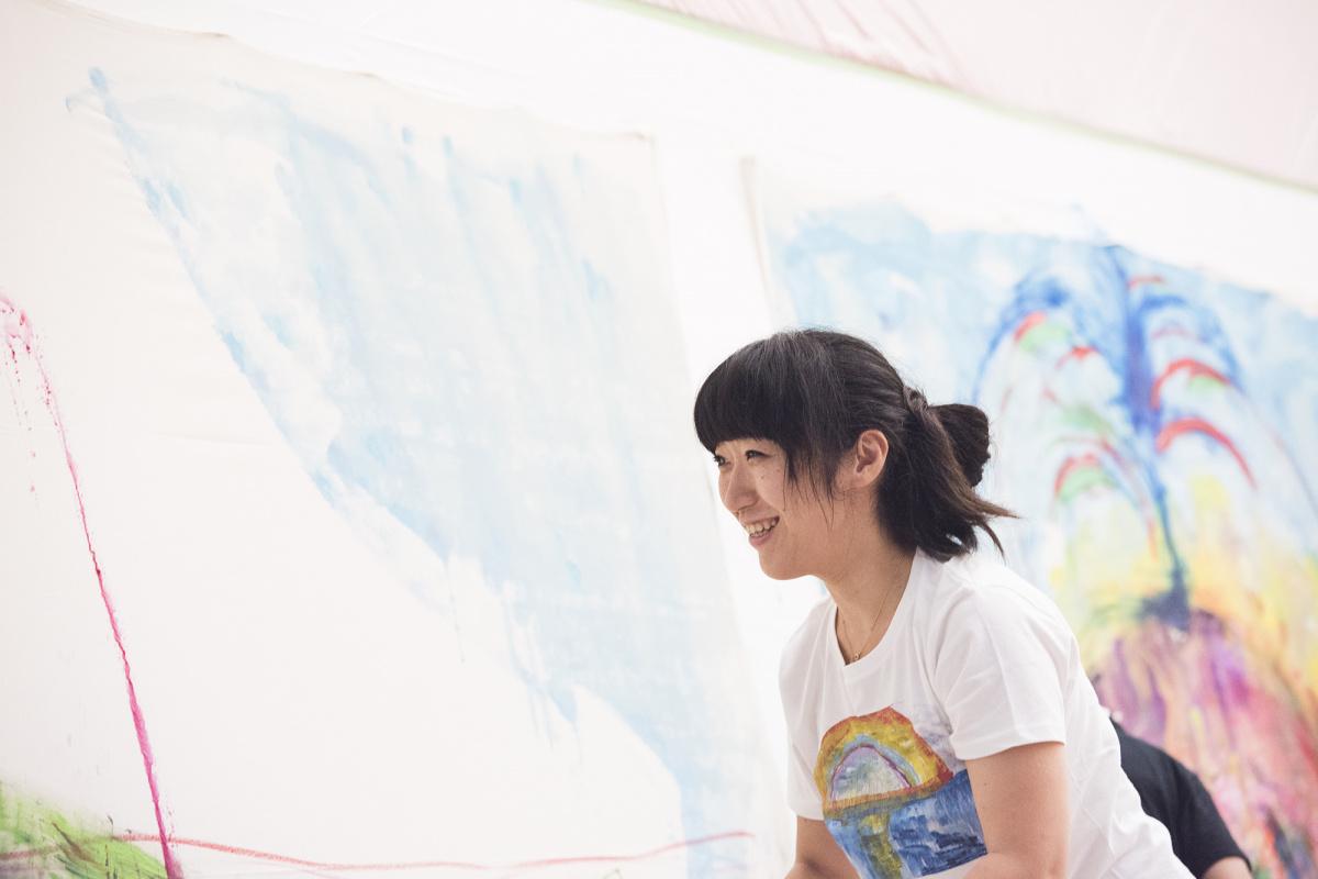 """大宮エリーが代官山で個展を開催! 絵画で紡ぎ上げた""""ある夫婦""""のストーリーに胸を打たれます。"""