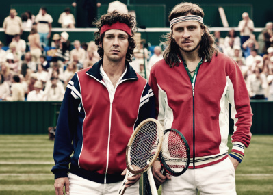 伝説のテニス選手の戦いに、思わず胸が熱くなる『ボルグ/マッケンロー 氷の男と炎の男』