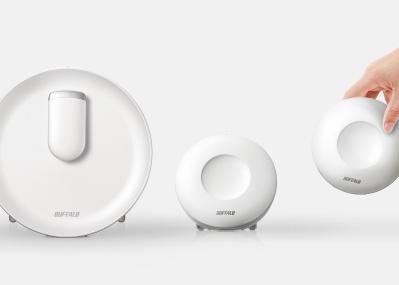 部屋に置きたい美デザイン! 「バッファロー」から、家中すみずみのWi-Fi環境をつくる新ブランドが登場。