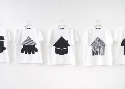 モノトーンの「家T-シャツ」、400のデザインバリエーションを実現してスパイラルで分譲開始。