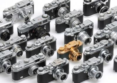 「世界のライカ型カメラ」展で、ライカの歴史的影響を知る。