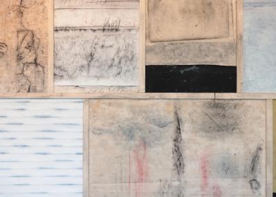 異国情緒漂うフロッタージュ、フランス人作家シャルル・ムンカの絵画展「Lingua Franca」にご注目を