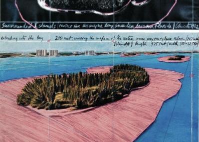 瞬時に景観を一変させる、クリストとジャンヌ=クロードの展覧会が開催中です。