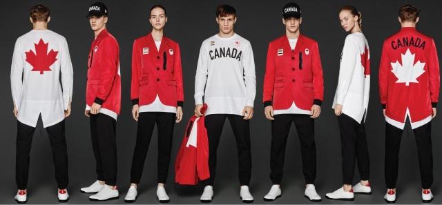 「ディースクエアード」による、カナダ選手団の2016年オリンピック制服がイケてます!